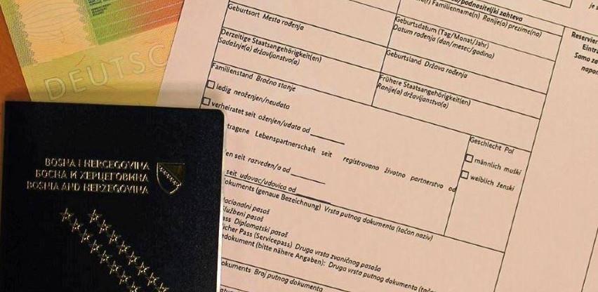 Pravilnik o izgledu i sadržaju obrasca zahtjeva za izdavanje vize i obrasca naljepnice vize