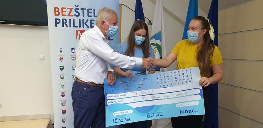 Projekti mladih iz Gračanice dobili podršku u Loncu