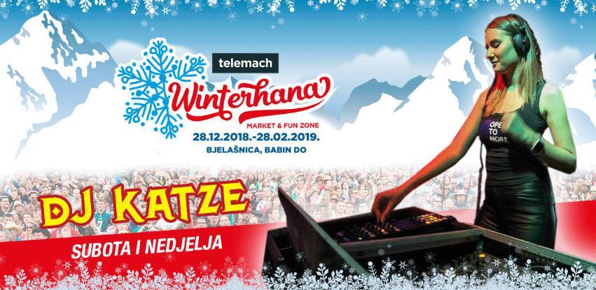 Ovog vikenda sjajna zabava na Telemach Winterhana market & fun zone