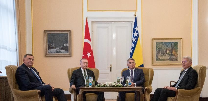 Erdogan: Povećat ćemo trgovinsku razmjenu s BiH na milijardu eura