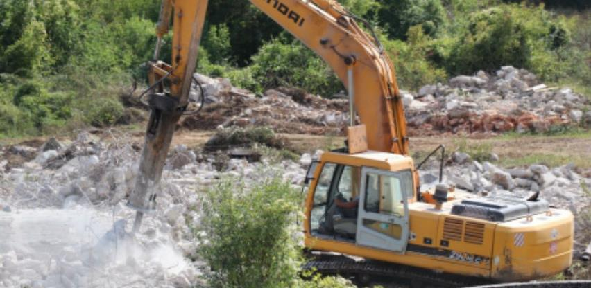 Pripremni radovi na izgradnji pročistača otpadnih voda u Širokom Brijegu
