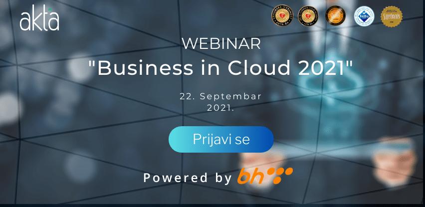 "Akta.ba i BH Telecom organizuju BESPLATAN Webinar ""Business in Cloud 2021"""