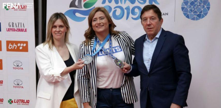 Cerić ponosna na istorijsko srebro na Evropskim igrama u Minsku