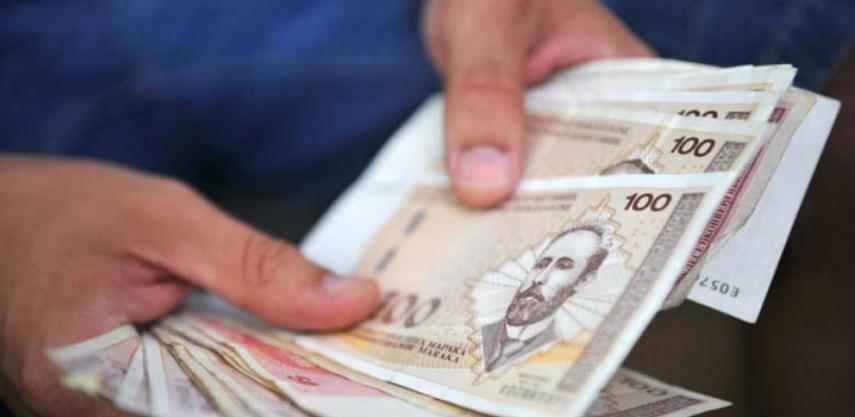 Prosječna plaća u RS-u u januaru 887 KM