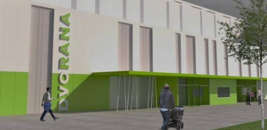 Do proljeća završetak rekonstrukcije i dogradnje sportske dvorane Luke u Bihaću