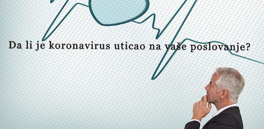 Uticaj koronavirusa na poslovanje firmi: Pogledajte rezultate ankete Akta.ba