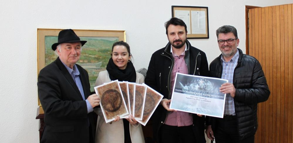 """Kapo dobio nagradu """"Srebreno drvo"""""""