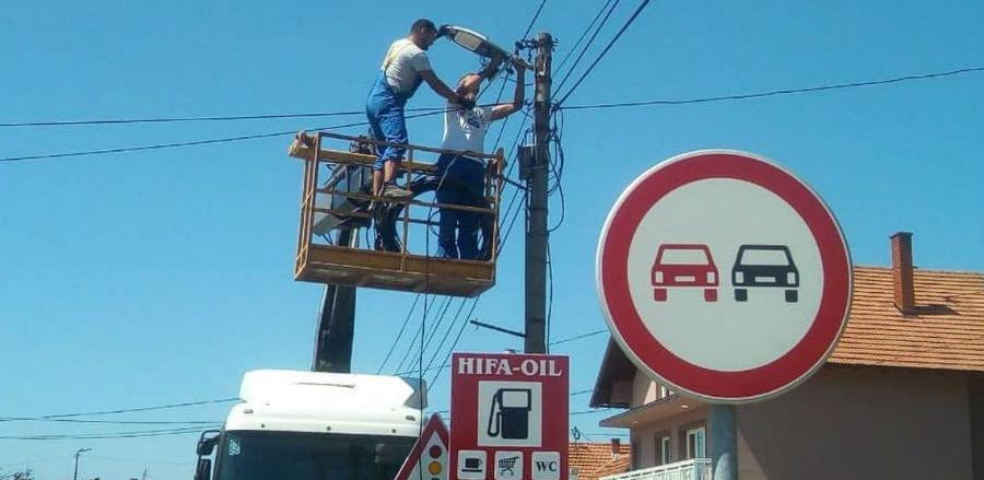 Živinice dobile prve smart ulične lampe i punjač za električne automobile