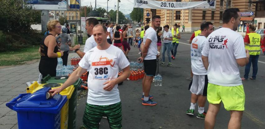 Reciklaža ambalažnog otpada i na 11. Sarajevo polumaratonu