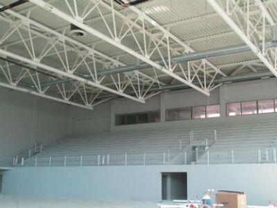 Nastavak radova na sportskoj dvorani u Jablanici