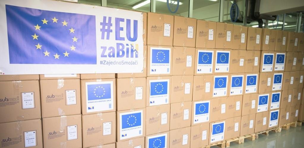 Pogledajte koliko je do sada EU donirala medicinske opreme u BiH