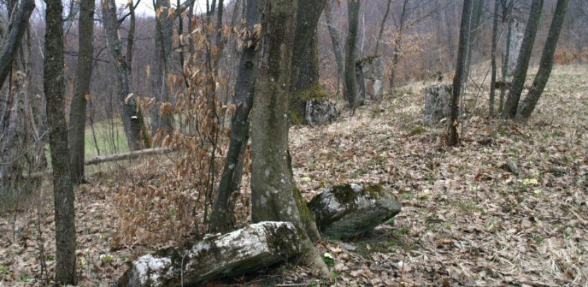 Nacionalni spomenik zapušten, zarastao u travu i šipražje