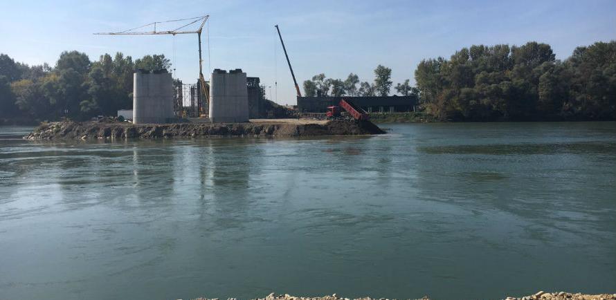 Završeno više od 70 posto radova na mostu Svilaj