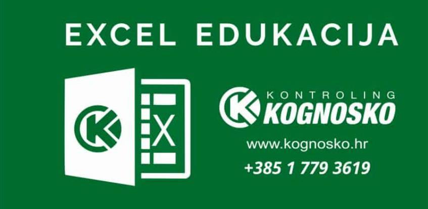 Excel za kontrolere – dvodnevna edukacija