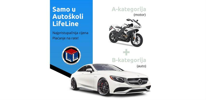 Sa Autoškolom LifeLine uštedite čak 411,00 KM!