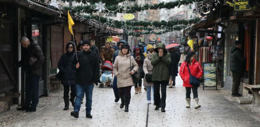 U Sarajevo stigao veliki broj turista na doček Nove godine