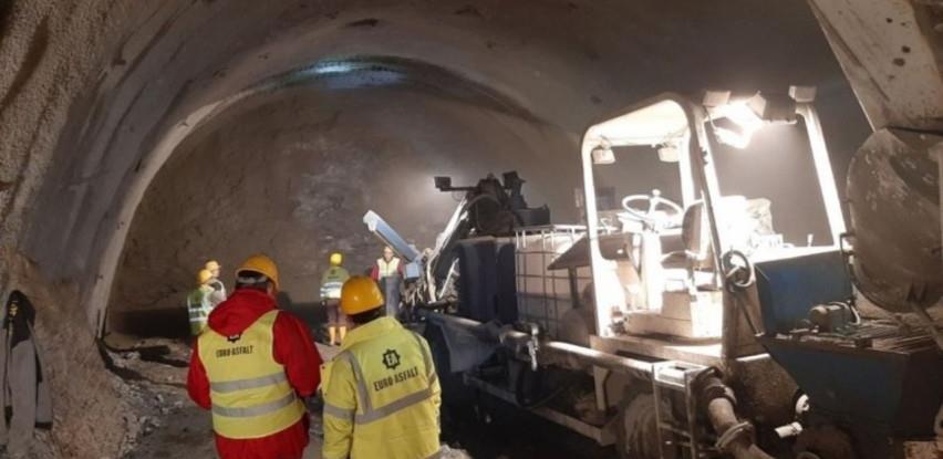Izgrađeno blizu kilometar tunela Hranjen