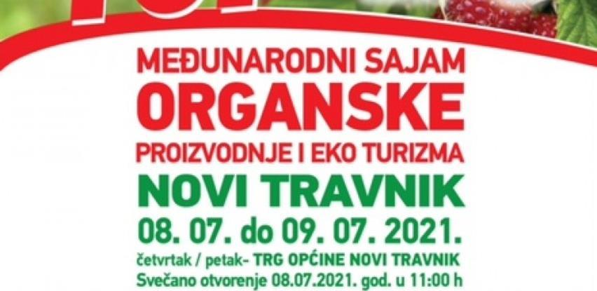 """U Novom Travniku sajam organske proizvodnje i eko turizma """"Dani Maline 2021"""""""