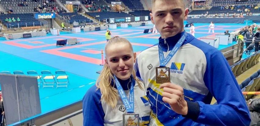 Nejra Sipović osvojila srebro, a Anes Bostandžić bronzu na omladinskom EP-u u Finskoj