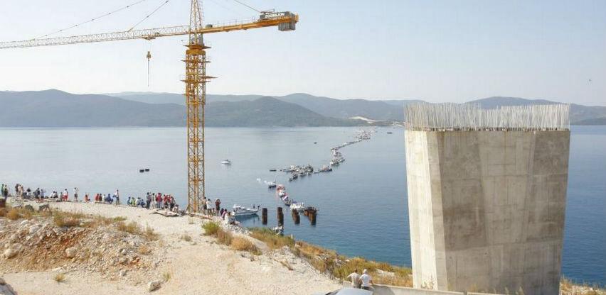 Strabag podnio žalbu Upravnom sudu, traži odgodu radova na Pelješkom mostu