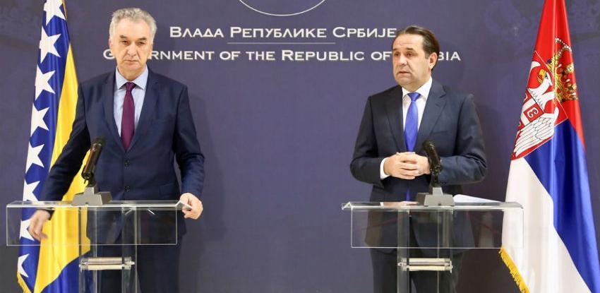 Trgovinska razmjena BiH i Srbije mogla bi dostići dvije milijarde eura godišnje