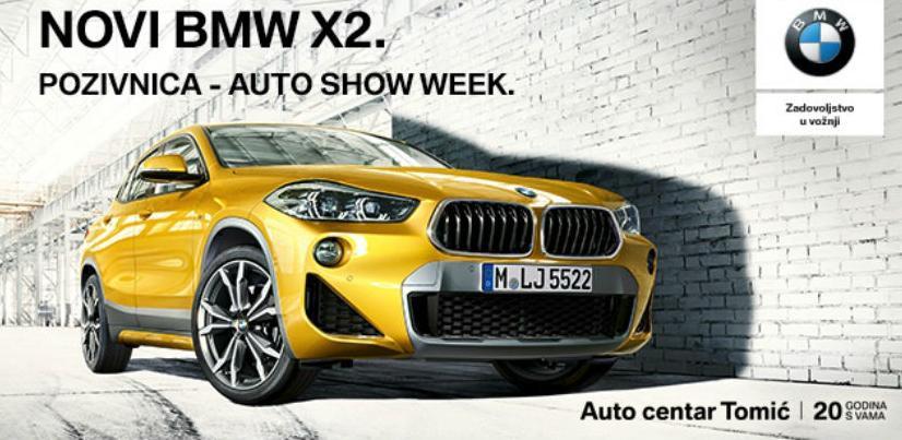 Auto centar Tomić na 2. Auto Show Weeku