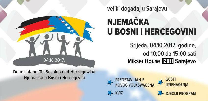 Veliki događaj u Sarajevu: Njemačka u Bosni i Hercegovini