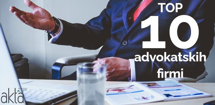 TOP 10 advokatskih društava: Ko je najbolje poslovao u 2020.?