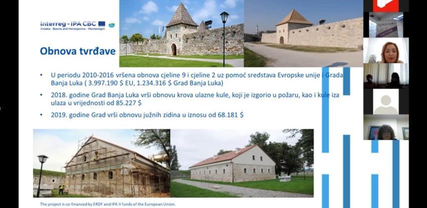 Razvoj novih sadržaja na tvrđavama: Predstavljeni kapaciteti Kastela