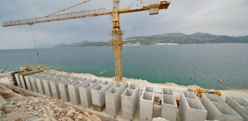 Poslovi na izgradnji Pelješkog mosta odvijaju se brže nego je predviđeno