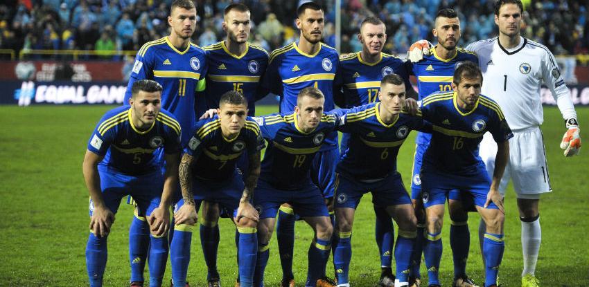 Reprezentacija BiH 41. na FIFA rang listi