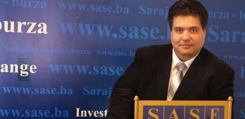 Kurbegović: Mnogostruke štete zbog blokade Komisije za vrijednosne papire FBiH