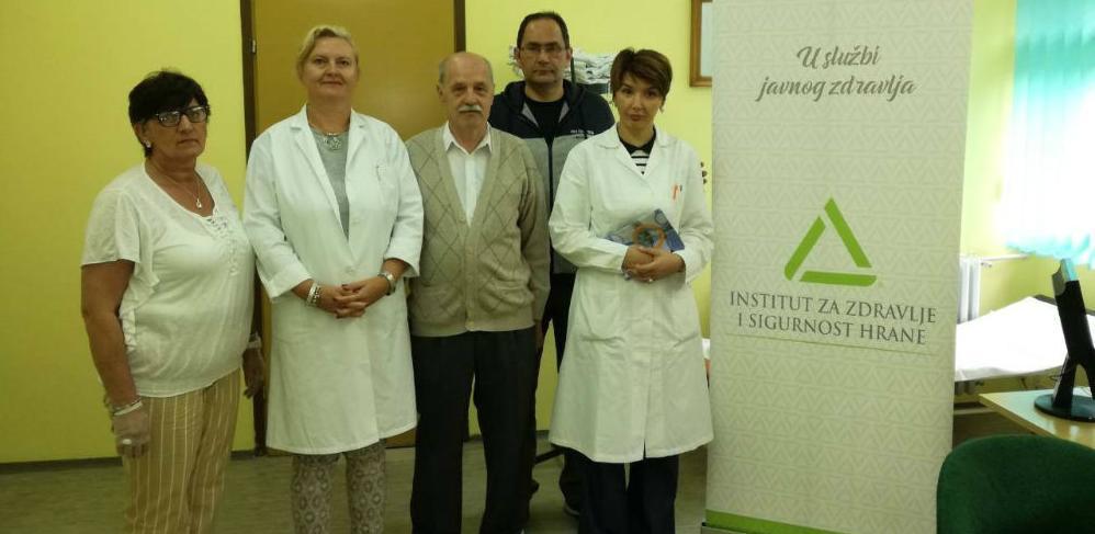INZ i Savez udruženja dijabetičara ZDK organizovali mjerenje šećera u krvi