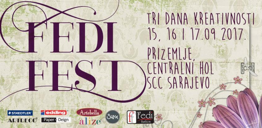 Tri dana kreativnosti: Posjetite Fedi Fest u Sarajevo City Centru