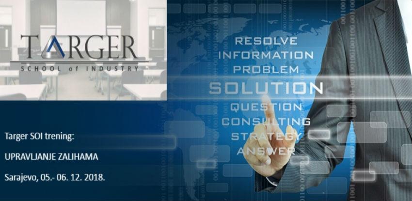 Targer School of Industry trening: UPRAVLJANJE ZALIHAMA