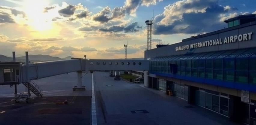 Promet Aerodroma Sarajevo u 2020. potonuo 78 posto