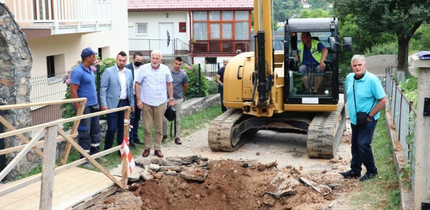 Na području općine Hadžići u toku realizacija velikih infrastrukturnih projekata