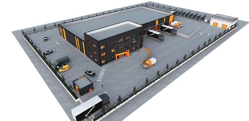 Bosman u poslovnoj zoni Boca gradi dva logistička centra vrijedna 7 miliona KM