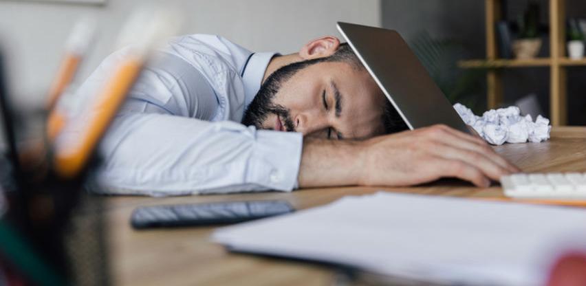 Spavanje na poslu ne znači nužno i manje rada