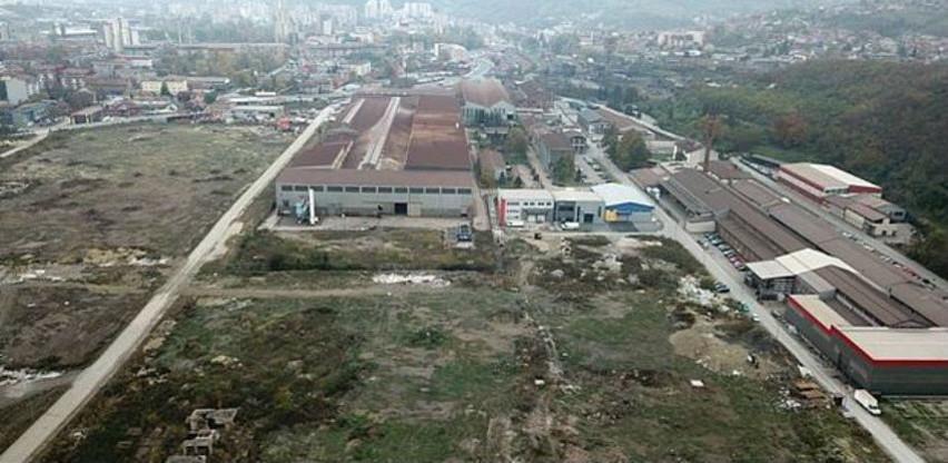 Na prodaju tri parcele u Radnoj zoni Zenica I radi izgradnje proizvodnih kompleksa