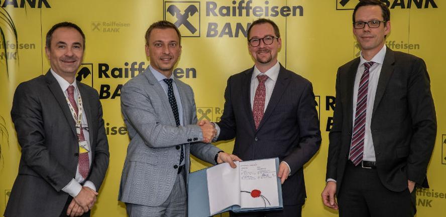 Potpisan ugovor između Raiffeisen banke i KfW razvojne banke