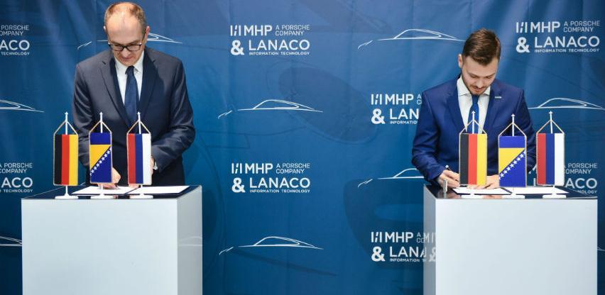 LANACO postao partner za razvoj IT rješenja kompaniji MHP A Porsche Company