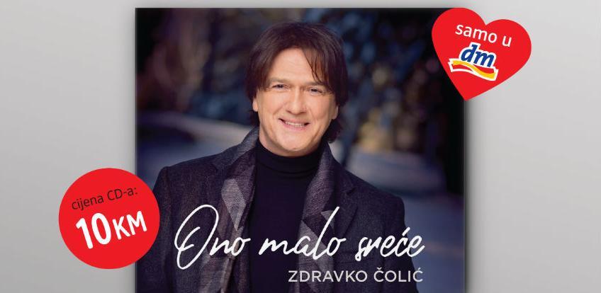 Samo u dm prodavnicama: Novi CD Zdravka Čolića 'Ono malo sreće'