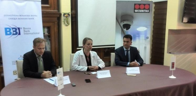 BBI banka i Securitas BiH pomažu Klinički centar Sarajevo