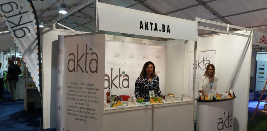 """Akta.ba jedan od izlagača 17. međunarodnog sajma """"EKOBIS 2019"""""""
