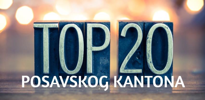 TOP 20 kompanija Posavskog kantona po prihodu, dobiti i broju radnika u 2019.