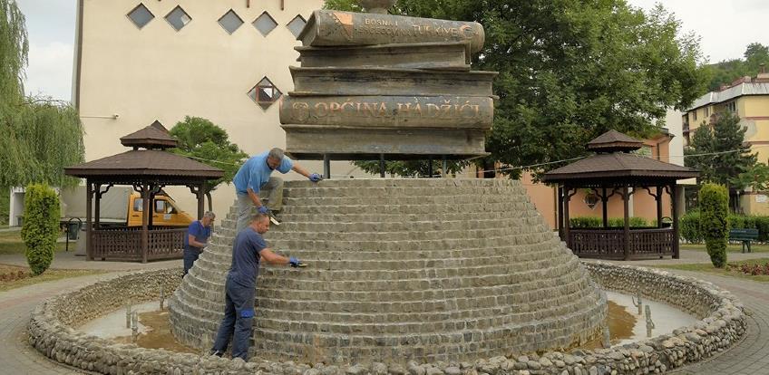 Hadžići: Fontana u parku Merem od iduće sedmice ponovo u funkciji