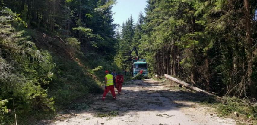 Strabag započeo sa radovima na regionalnom putu Lukavica-Pale