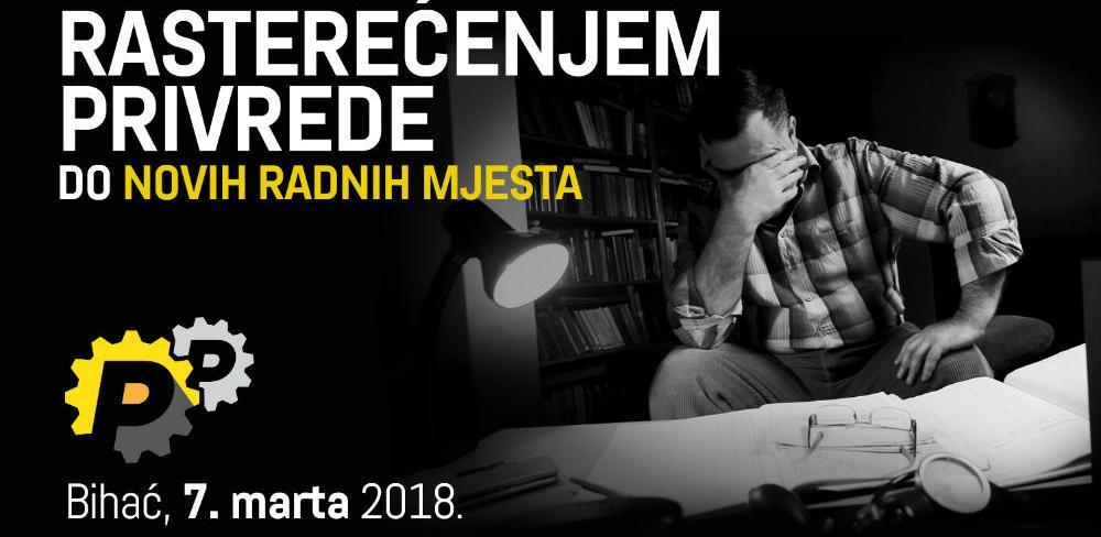 """Biznis forum """"Rasterećenjem privrede do novih radnih mjesta"""" 7. marta u Bihaću"""