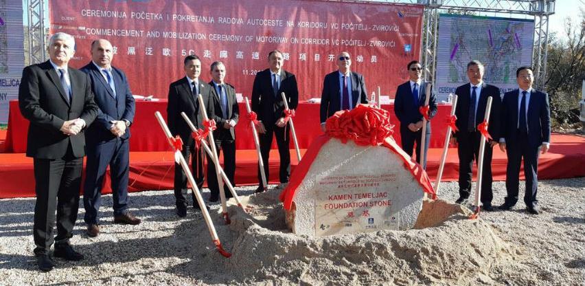 Položen kamen temeljac: Kreće gradnja autoceste Počitelj - Zvirovići (Video)